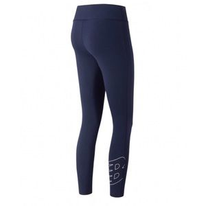 New Balance Fitted Mid Rise Logo Leggings NWT!!